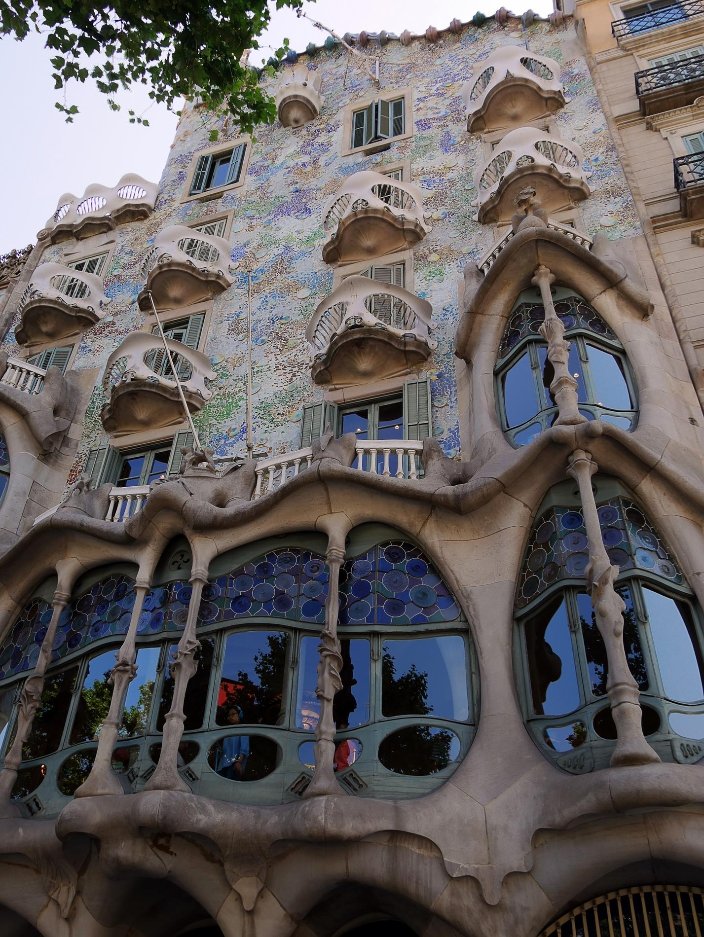 voyage découverte à Barcelone - casa batllo