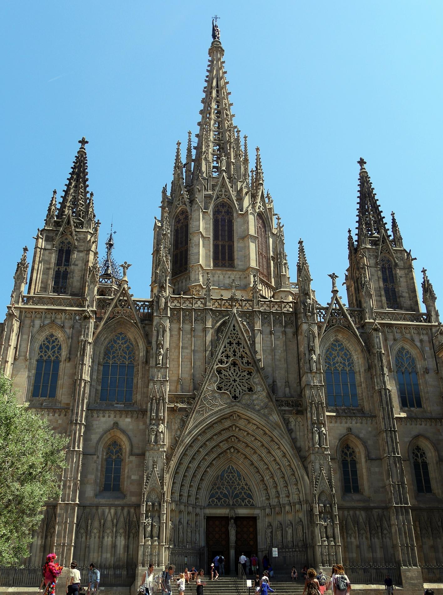 voyage découverte à Barcelone - cathédrale sainte croix