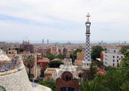 découverte voyage barcelone - vue parc guell