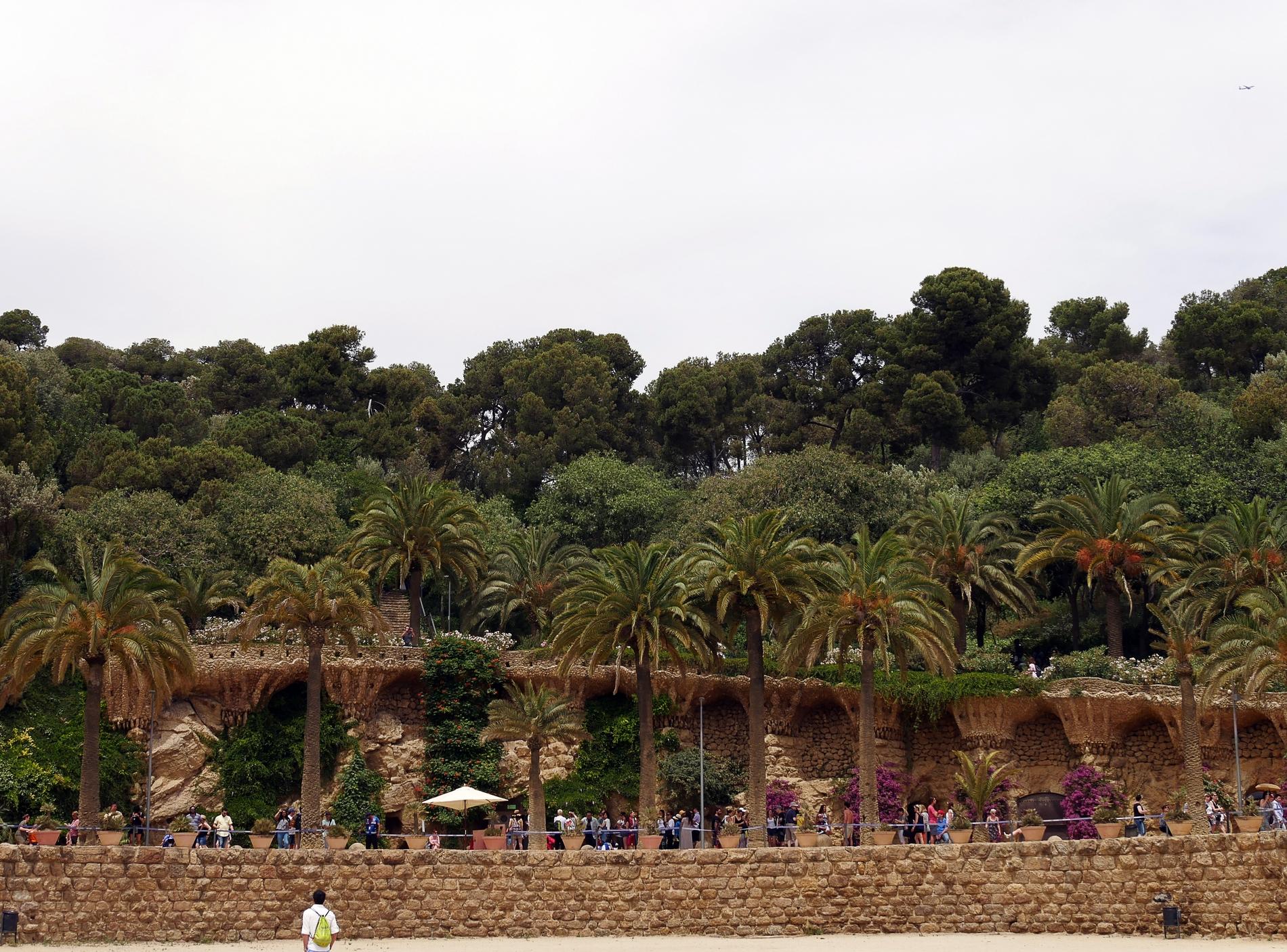 voyage découverte à Barcelone - parc guell