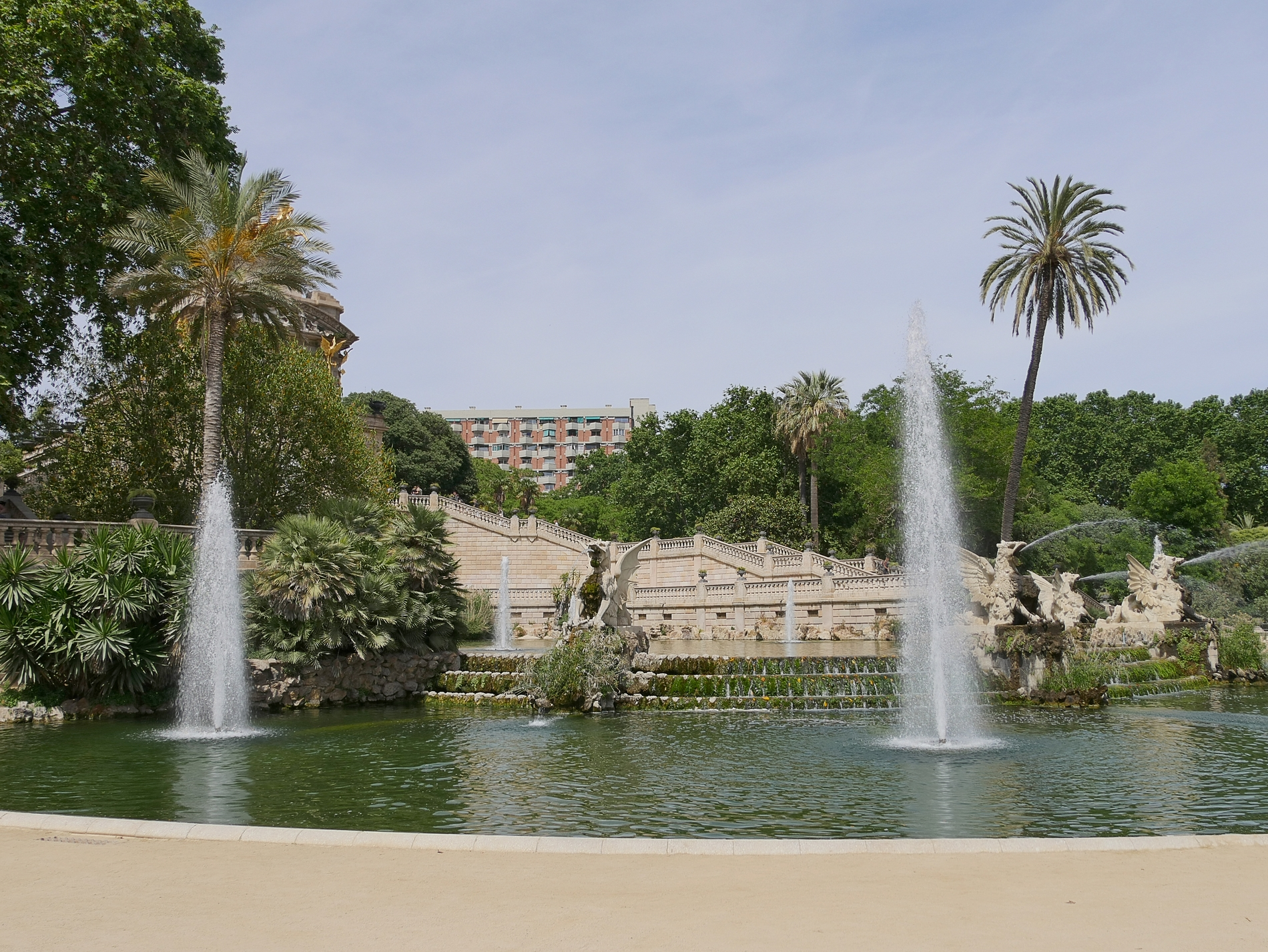 voyage découverte à Barcelone - parc ciutadella