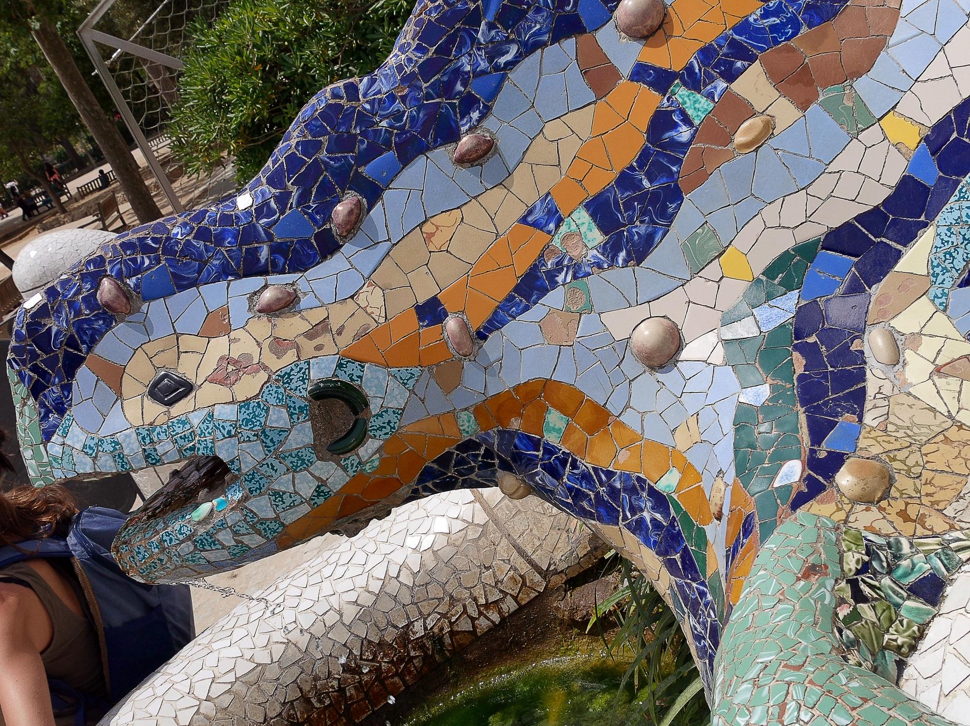 voyage découverte à Barcelone -parc guell