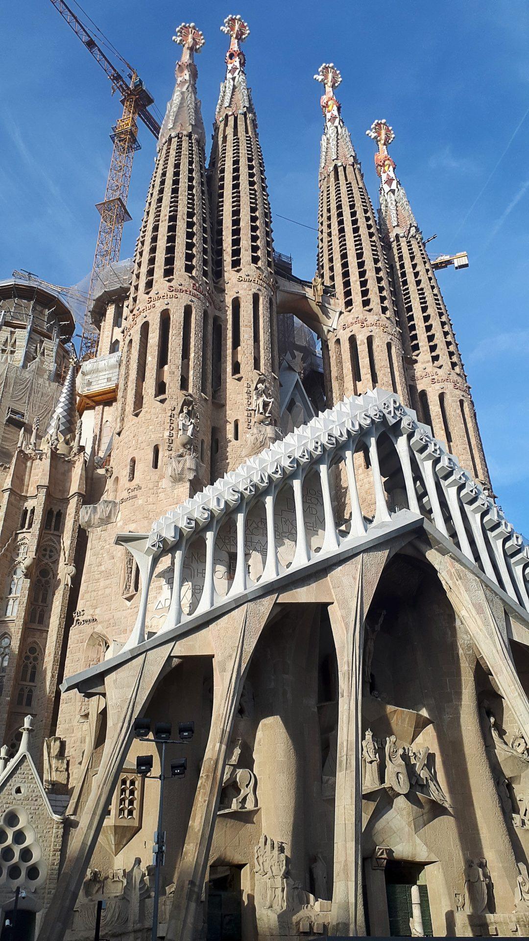 voyage découverte à Barcelone - sagrada familia