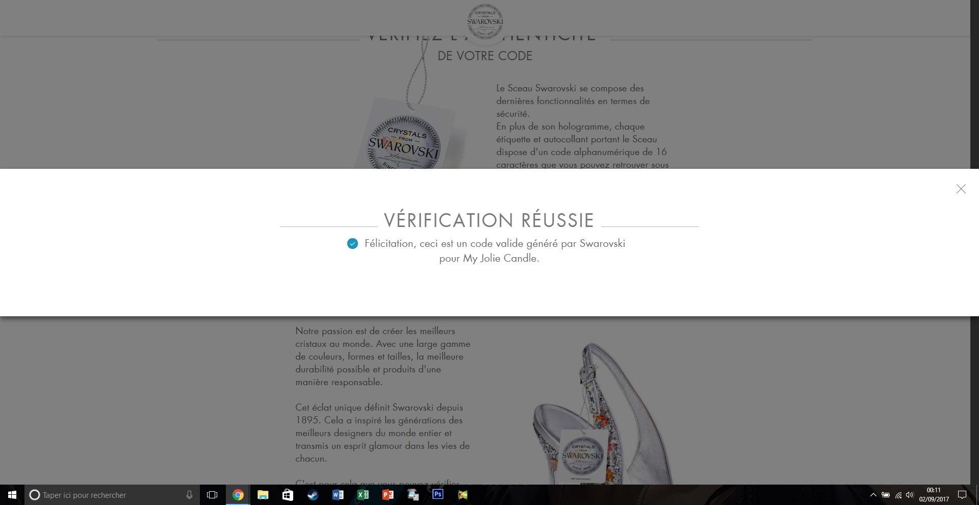 certification swarovski - juliesliberties