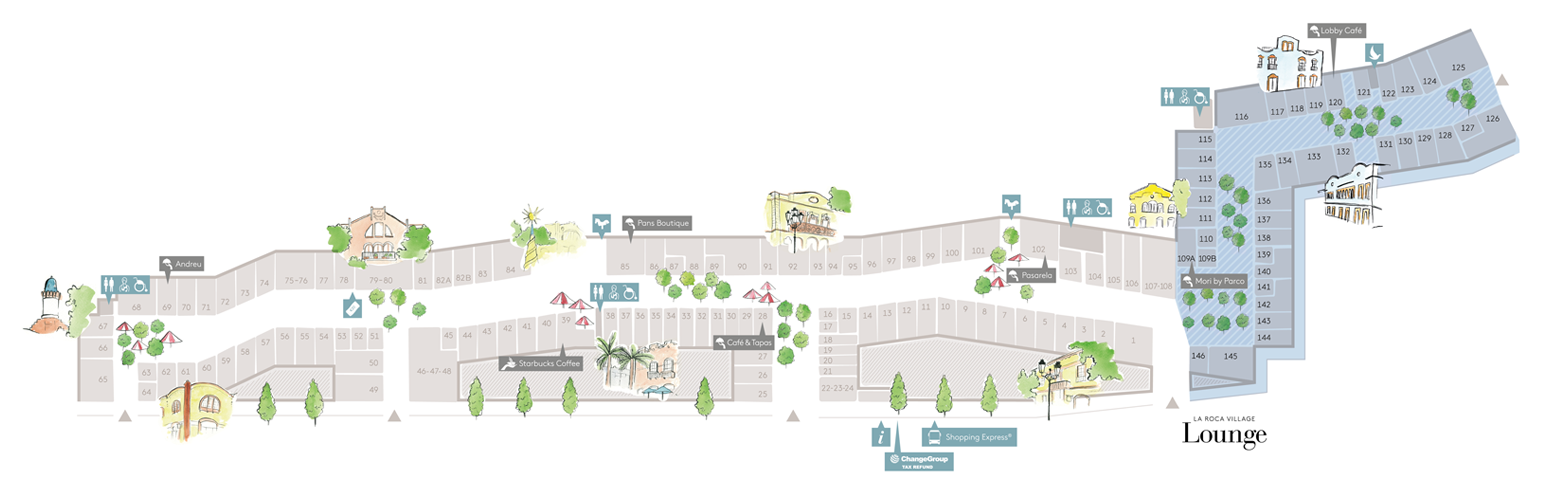 plan roca village barcelone - juliesliberties
