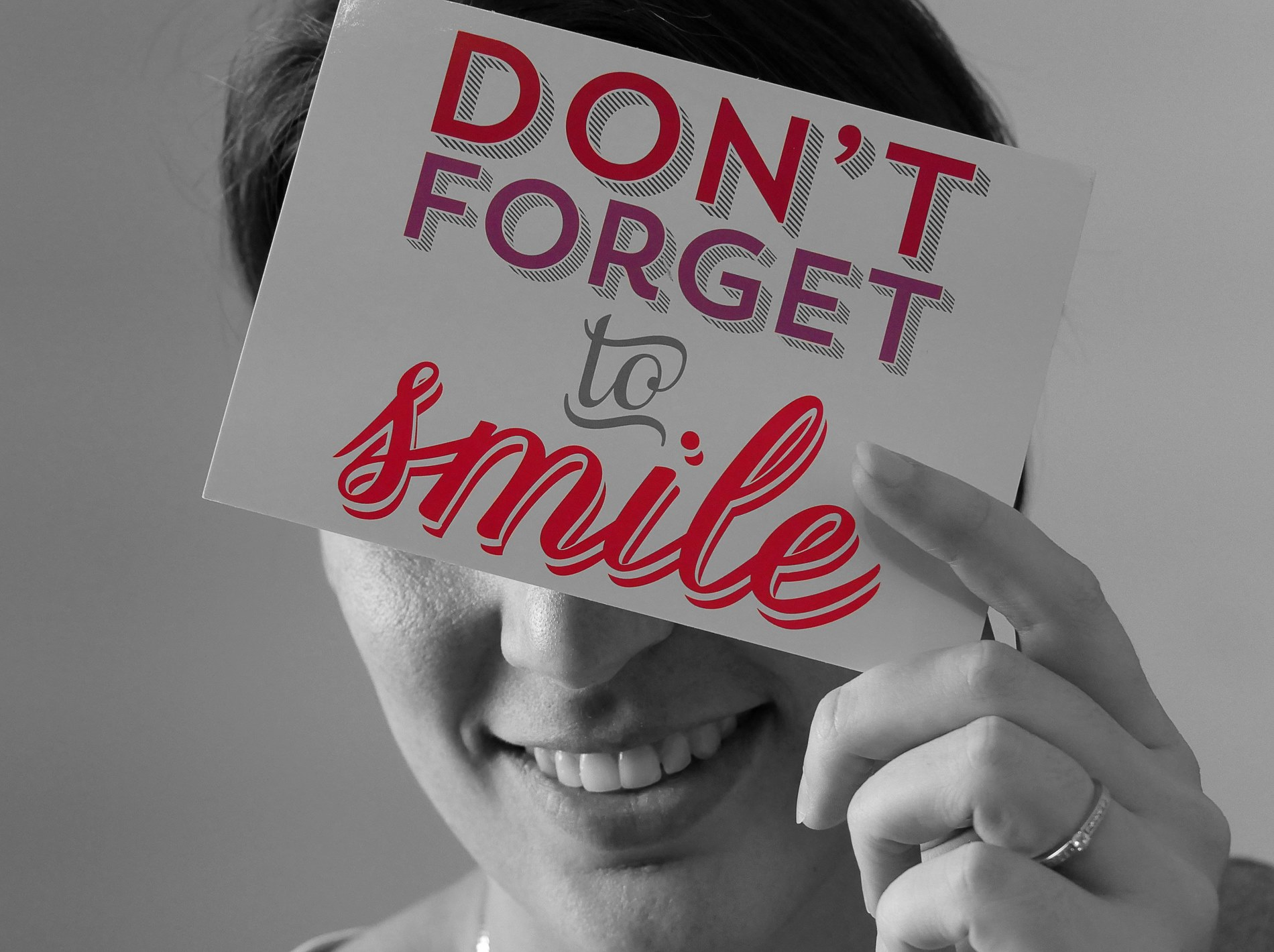 postcrossing don't forget to smile - juliesliberties