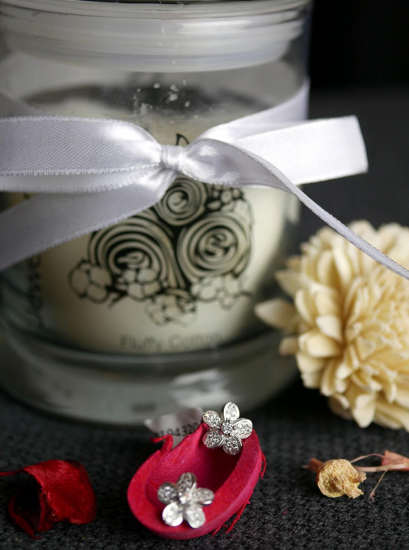 bijou jewelcandle fluffy cotton - juliesliberties