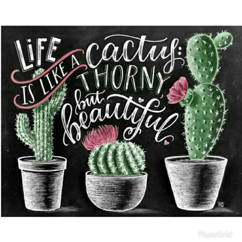 cactus diamond painting