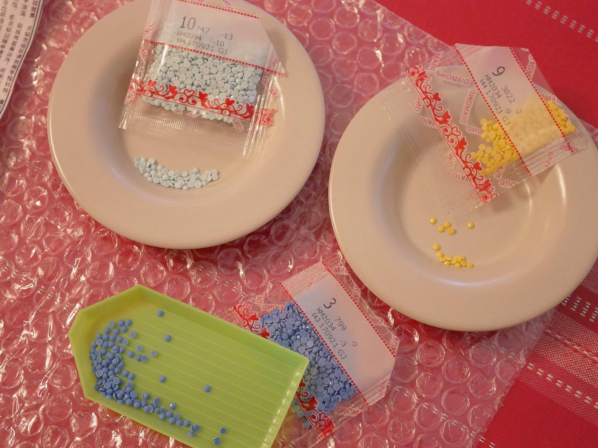 diamond painting récipients strass - juliesliberties