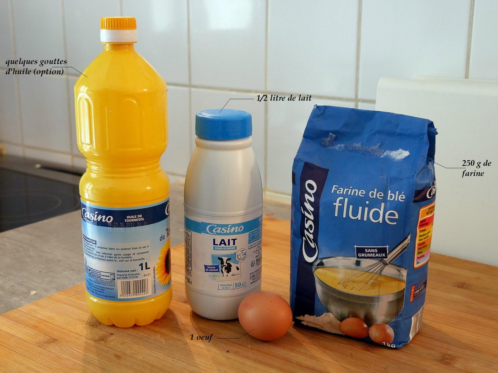 recette crêpes ingrédients - juliesliberties