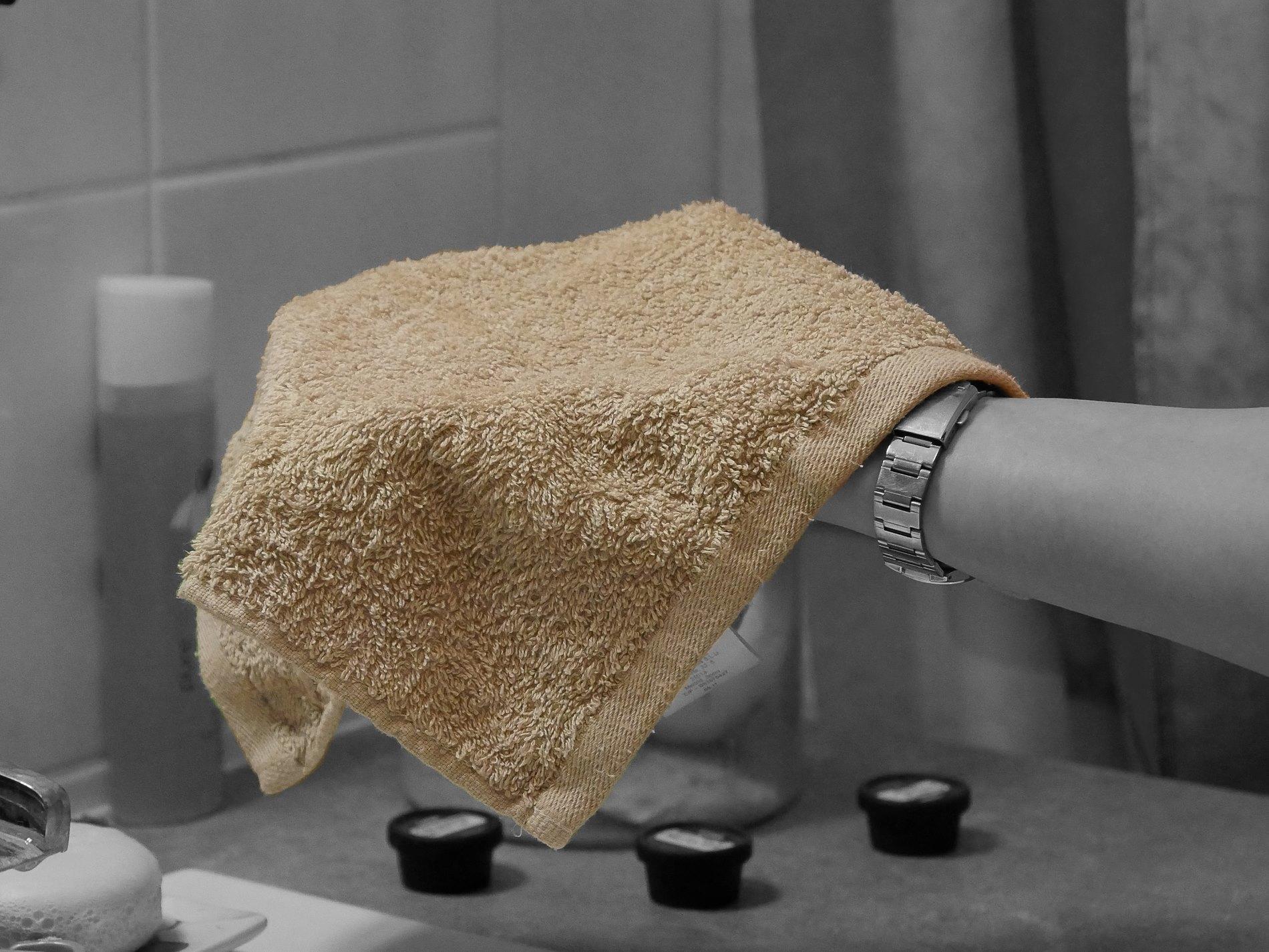 serviette propre et sèche - juliesliberties