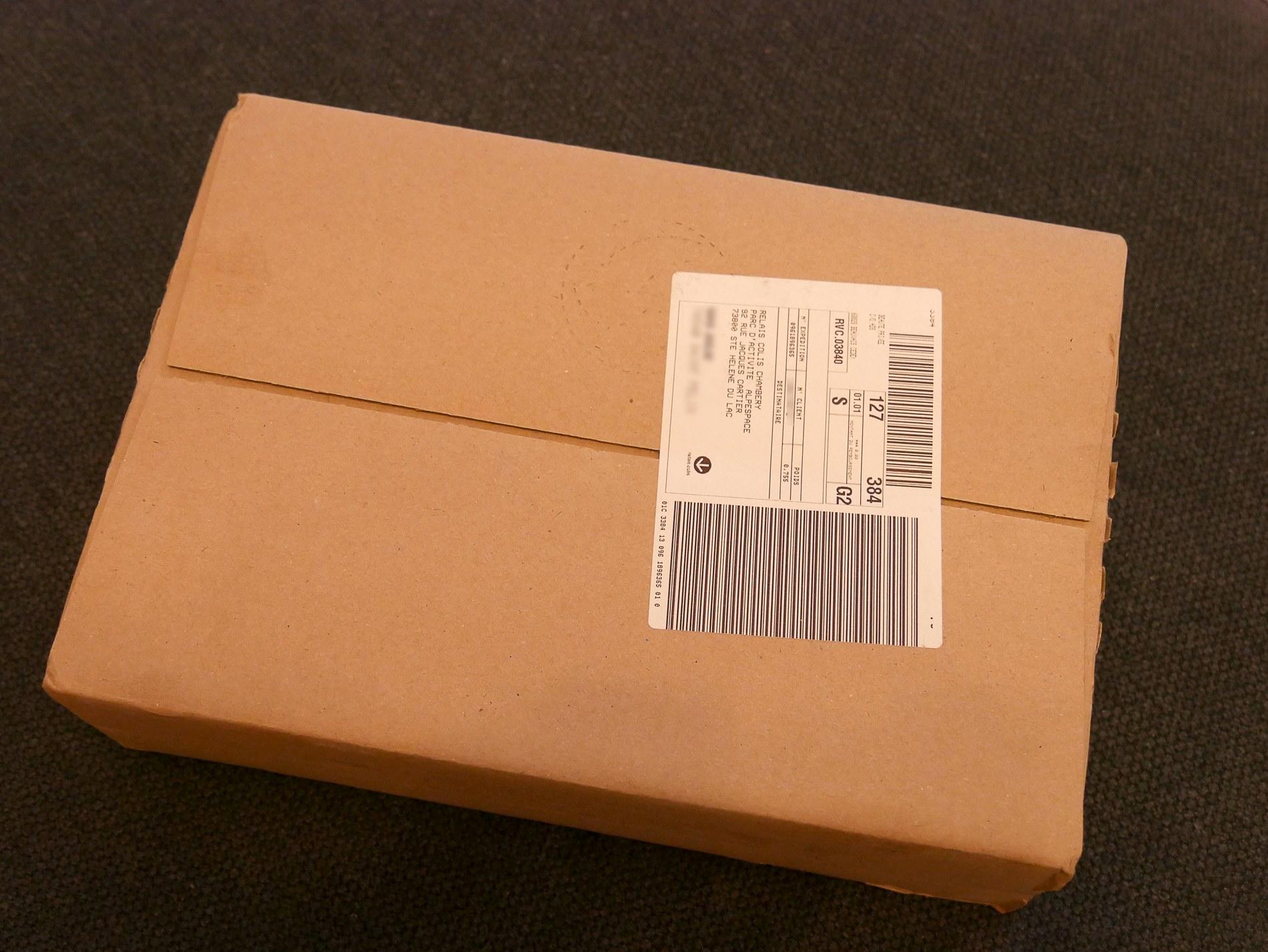 colis beautéprivée2 emballage - juliesliberties